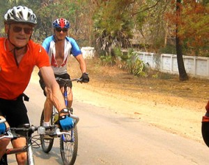 Biking adventure tour from Siem Reap to Phnom Penh